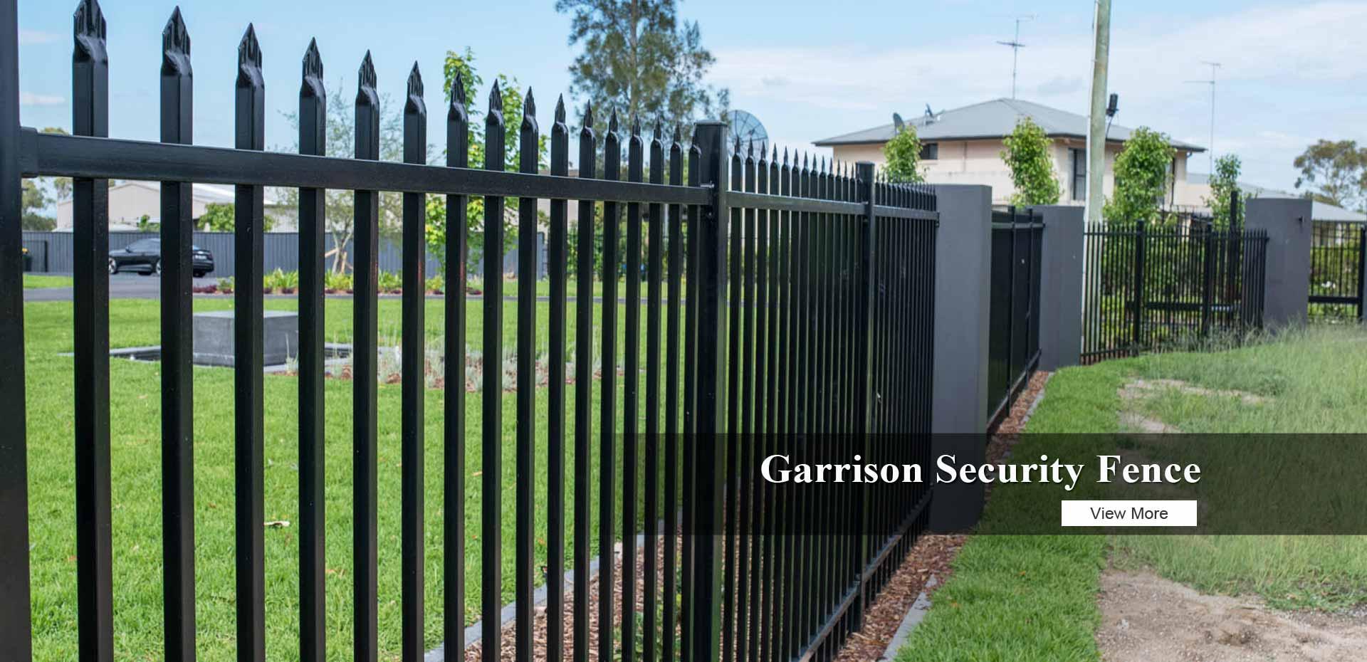 High Security Garrison Fence