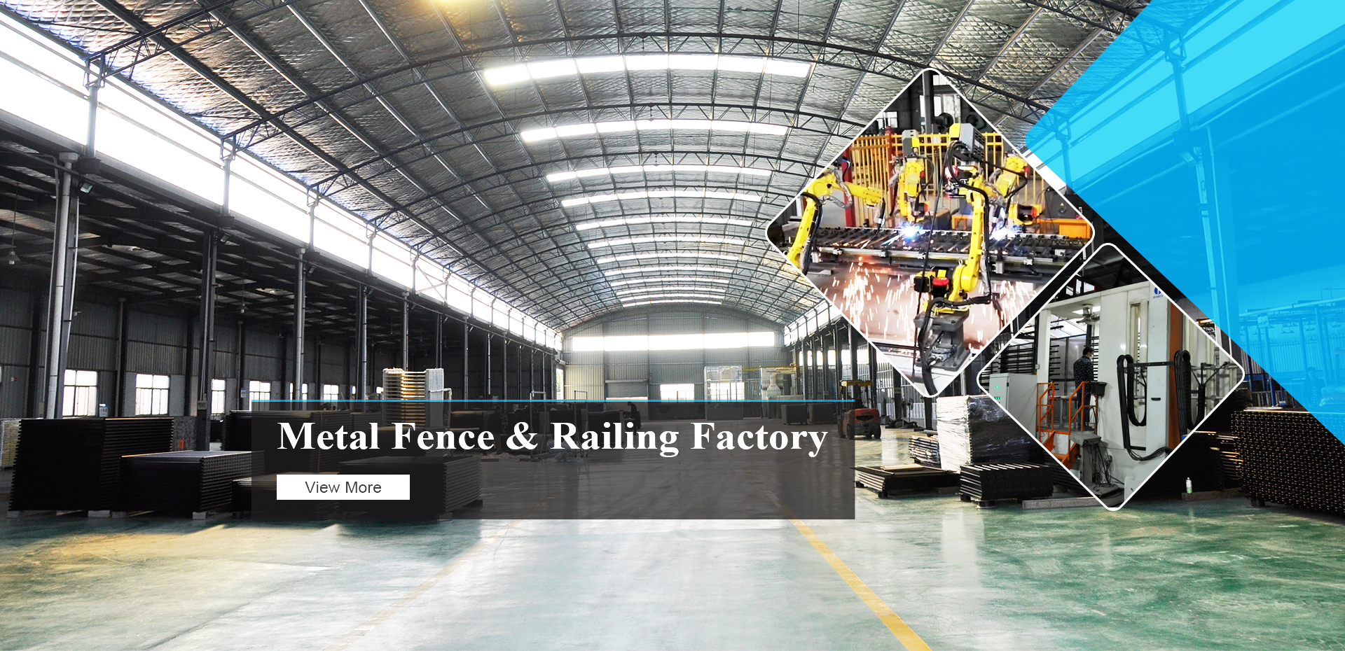Metal Fence and Railing Manufacturer