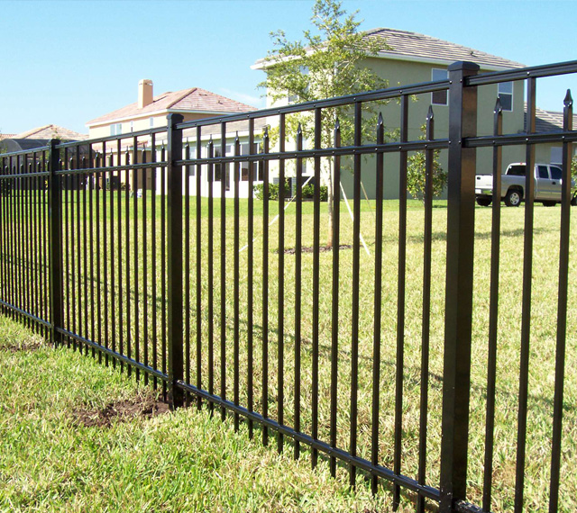 The Compasion of Steel and Aluminum Fencing