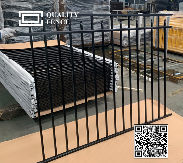 Compasion of Steel and Aluminum Fencing