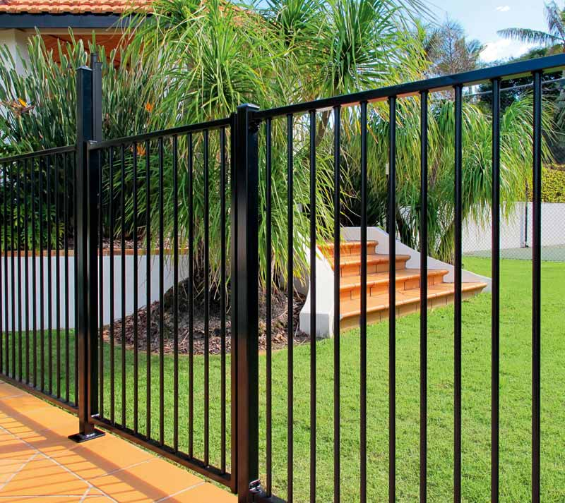 Steel Rod Pool Fencing