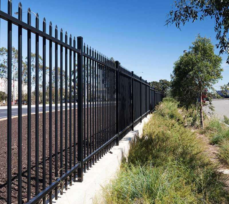Ornamental Fence for Industrial