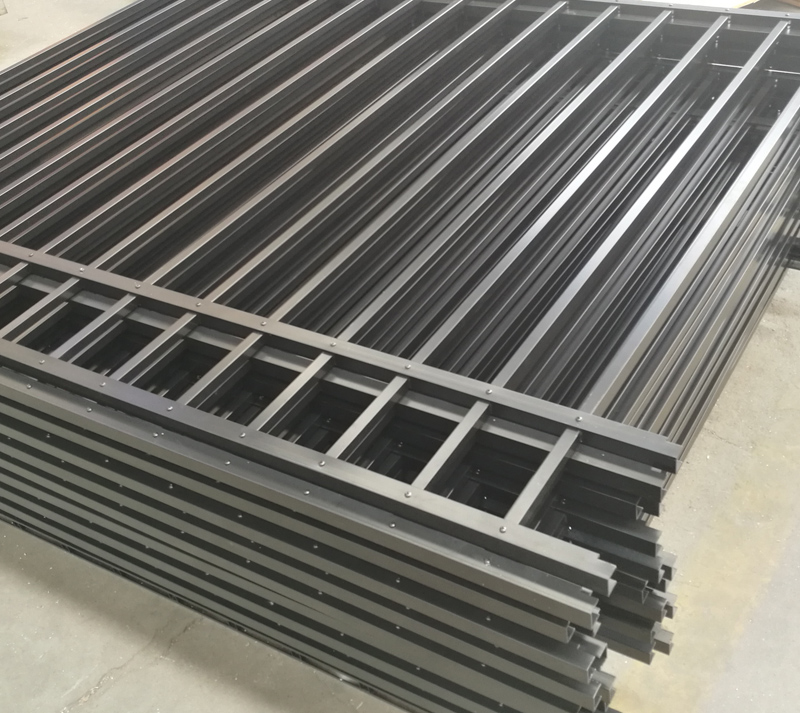Mechanical Aluminum Fence Finished photos