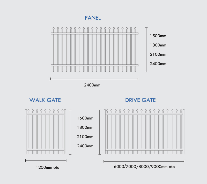 School Fence Specifications
