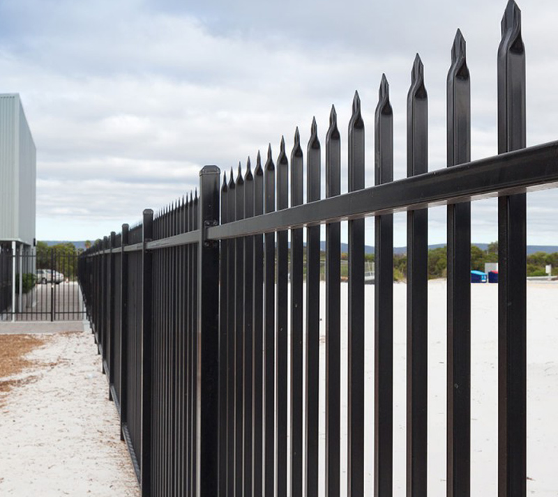 Garrison Security Fence Finished product