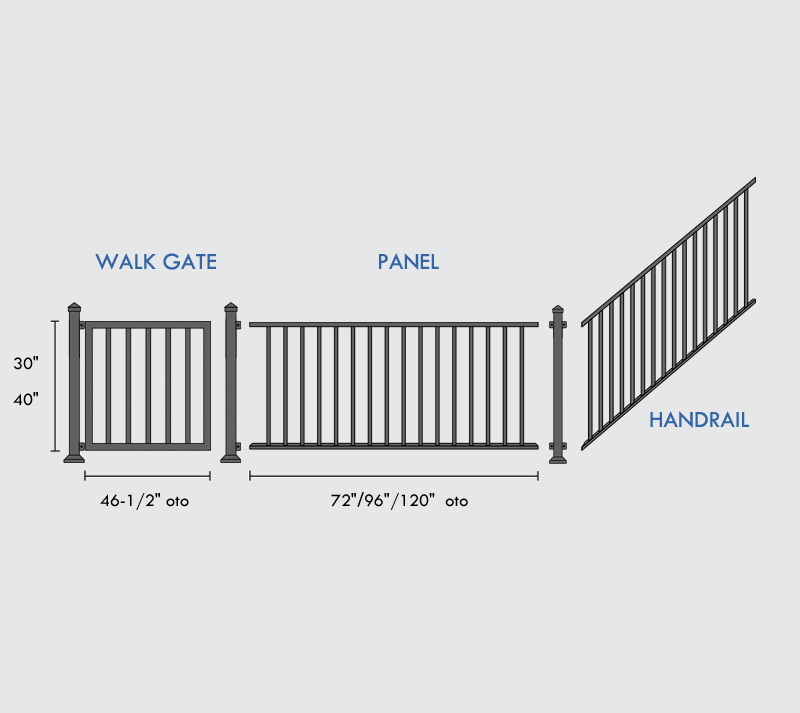 Deck Railing Specifications