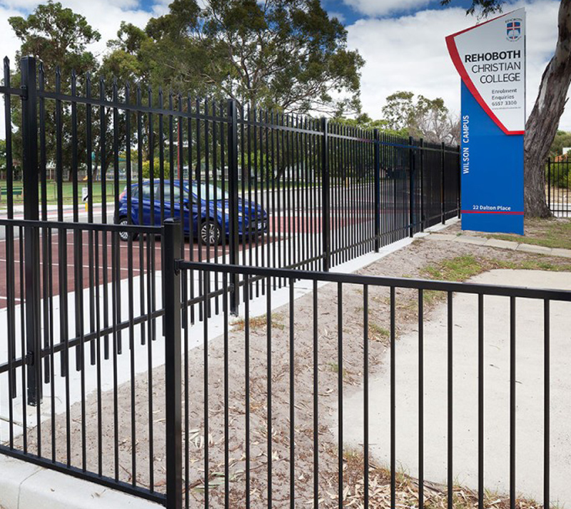 Ornamental Fence for commercial
