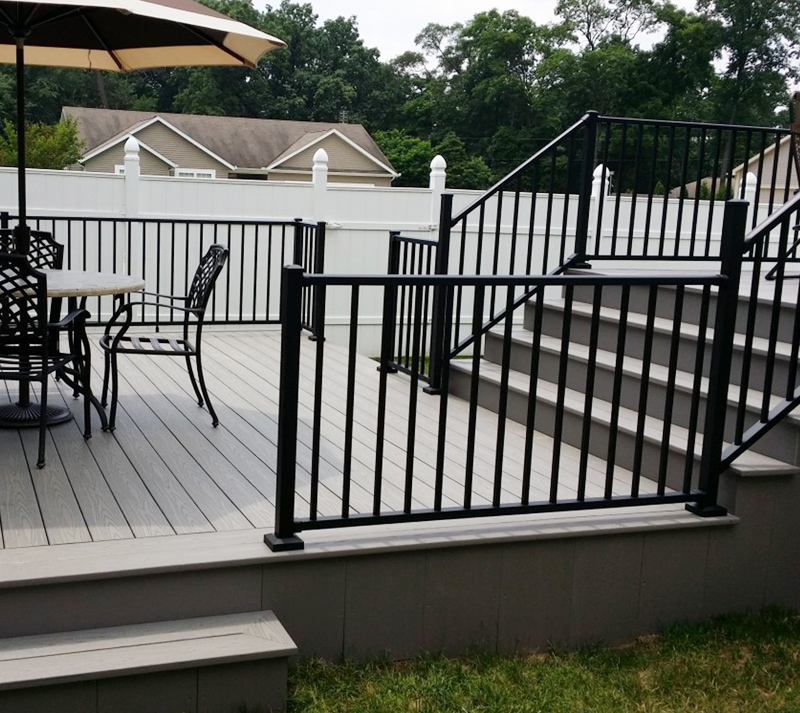 Deck Railing and Handrails